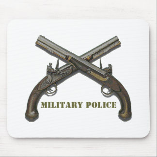 Military Police Crossed Pistols Mouse Pad