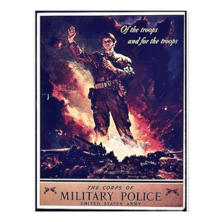 Military Police Flyer