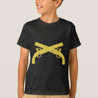 Military Police Insignia - Crossed Pistols T-Shirt