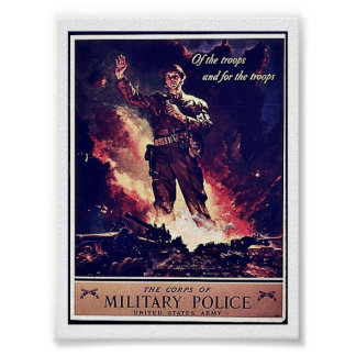Military Police Print