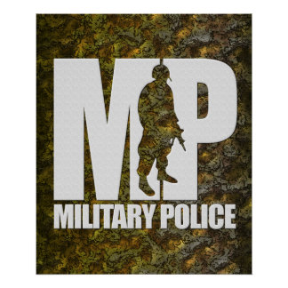 Military Police Posters