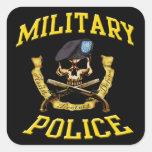 Military Police Skull n Pistols Sticker