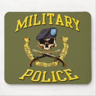Military Police Skull w Pistols mousepad