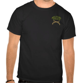 Military Police- Two Sided Tee Shirt