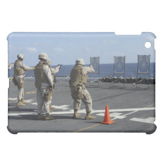 Military policemen train with the Berretta M9 iPad Mini Cases