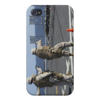 Military policemen train with the Berretta M9 Covers For iPhone 4