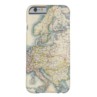 Military Political Map of Europe Barely There iPhone 6 Case