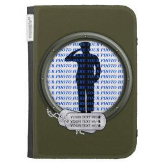 Military Portrait Kindle Cases