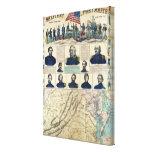Military Portraits Canvas Print