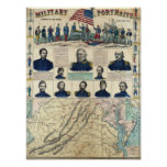 Military Portraits Poster