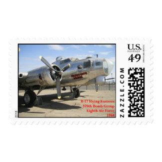 Military - Preston's Pride B-17 Postage