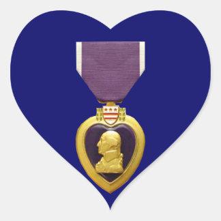 Military Purple Heart Medal Sticker