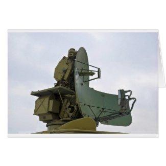 military radar antenna cards