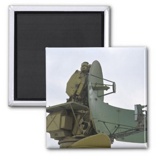 military radar antenna refrigerator magnet