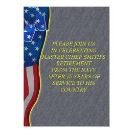 Military Retirement Card