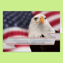 Military Retirement - Custom Congratulations Card