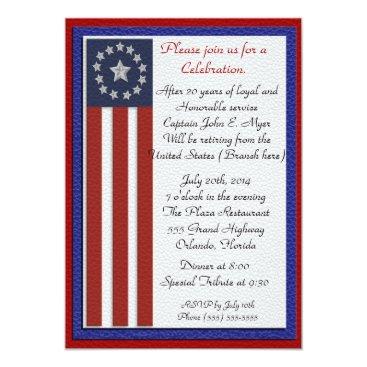 Irisangel Military Retirement Party Invitation