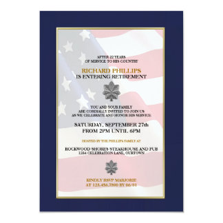 military_retirement_party_invitations r43c32915c8a747a8b93a111ee195ed9c_zkrqs_324?rlvnet=1 military invitations & announcements zazzle,Military Invitation Template