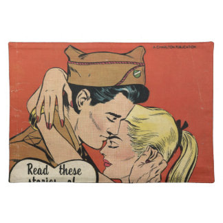 Military Romance Cloth Placemat