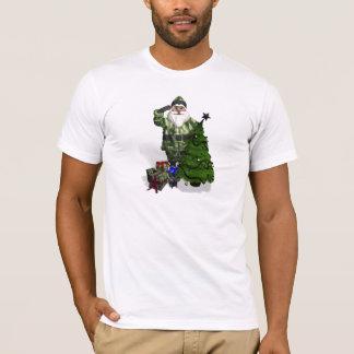 Military Santa Claus T-Shirt