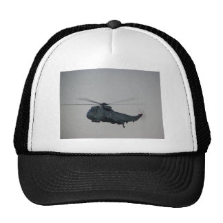 Military Sea King Helicopter Trucker Hat