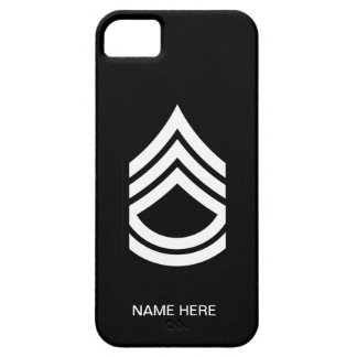 Military Sergeant First Class iPhone 5 Covers