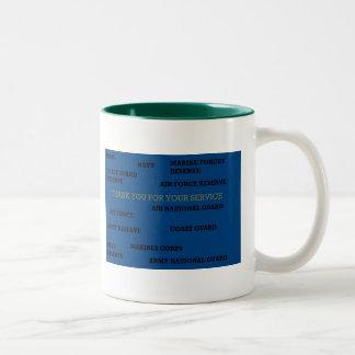 Military Service Mug