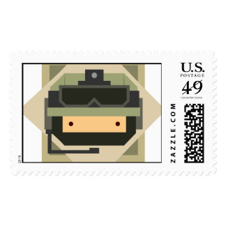 Military Set - Army Soldier Postage