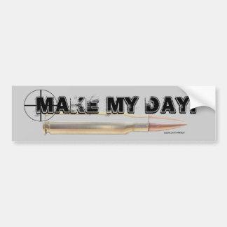 military shows gun hunting clubs .. - Customize Bumper Sticker
