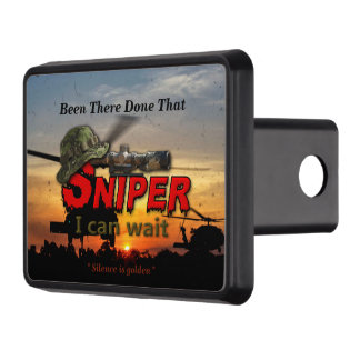Military Snipers LRRP LRRPS Recon Trailer Hitch Cover