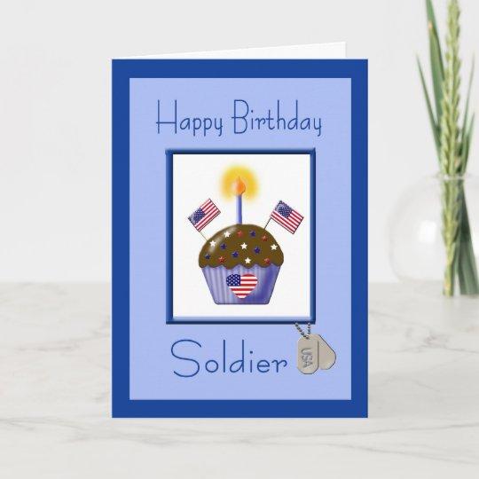 Military Soldier Birthday Card Zazzle