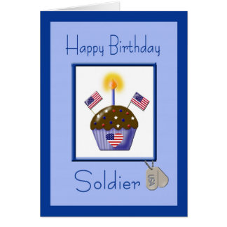 Birthday soldier cards greeting photo cards zazzle military soldier birthday card bookmarktalkfo Image collections