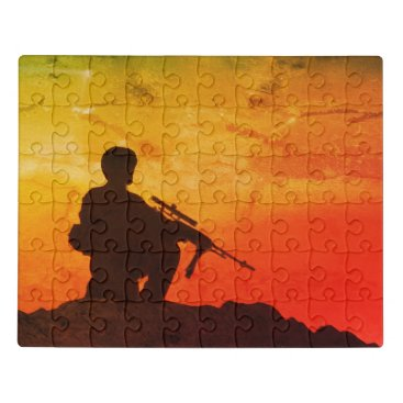 Military Soldier Puzzle