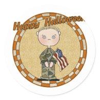 Military Soldier Sticker
