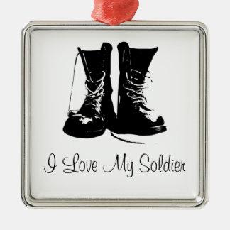 Military Soldier Veteran Keepsake Ornament