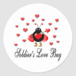 Military Soldier's Love Bug Stickers