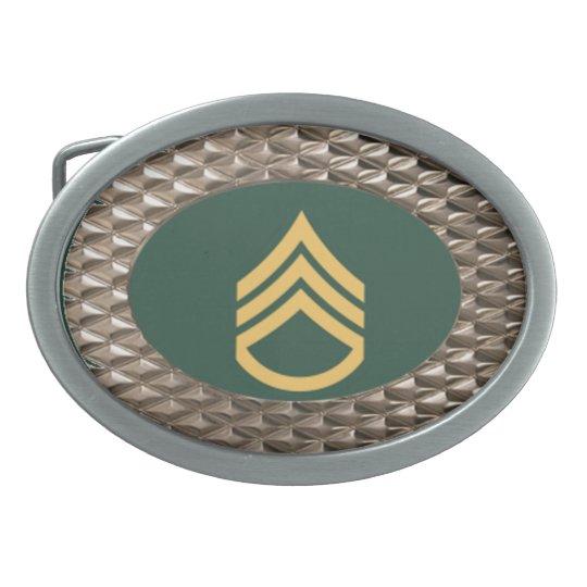 Military Staff Sergeant Buckle Belt Buckle