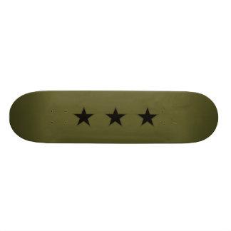military star skateboard deck