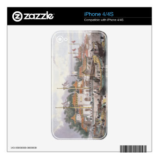 Military Station of the Chinese near the City of C Skins For iPhone 4S