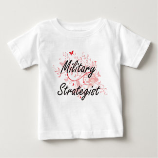 Military Strategist Artistic Job Design with Butte Baby T-Shirt