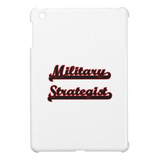 Military Strategist Classic Job Design iPad Mini Cases