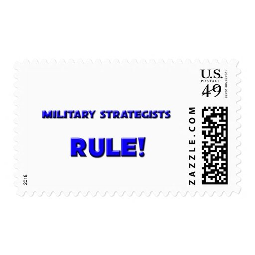 Military Strategists Rule! Postage Stamps