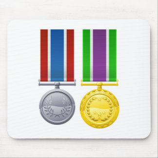 Military style decorations mousemat