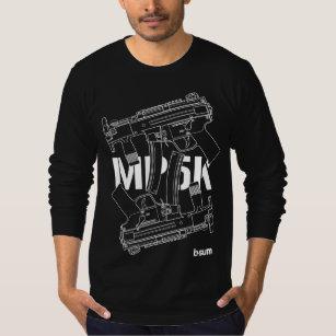 smg clothing zazzle FN P90 military t shirts hk mp5k smg