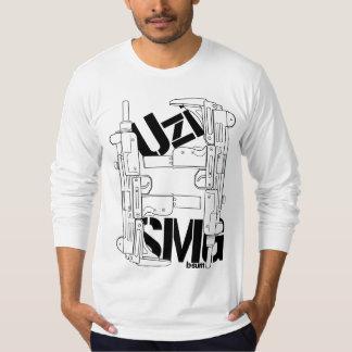 military t-shirts Uzi SMG