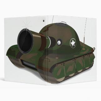 Military Tank Binders