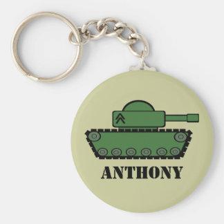 Military Tank Keychain