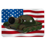Military Tank Magnets