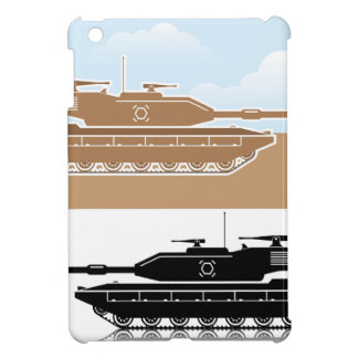 Military Tank simple vector Cover For The iPad Mini