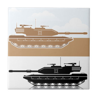 Military Tank simple vector Tile